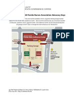 Advocacy Days 2018 Parking Instructions