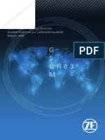 QD83 - Global Supplier Quality Directive - Edition 2018