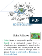 Lec-5-Week (3) ( Noise Pollution)