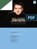 Bach & Telemann_ Sacred Cantatas