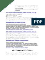 Archivo Futbol y Atletismo