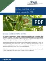 Detectar Costes Ocultos Implantacion ERP Choice