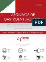 Arquivos de Gastroenterologia 2017 -248 Pg