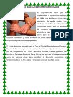 Día del cooperativismo peruano