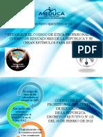 Codigo de Etica del Doscente Panameño