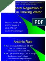 Arsenic Rule