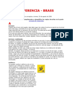 Sección Referencia - Reglas de BRASS - Documentos de Google