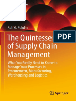 Rolf G. Poluha, The Quintessence of Supply Chain Management, Springer, 2016