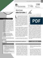 Normativa de la elección presidencial en Colombia