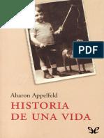 Appelfeld, Aharon - Historia de Una Vida [8489] (r1.1)