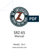 SRZ 65 Manual Full