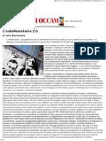 Lelio Demichelis_ L'Ordoliberalismo 2.0