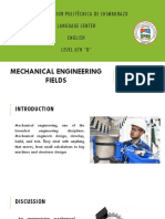 Mechanical Engineering Fields