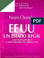Chomsky Noam 2002 Estados Unidos Un Estado Ilegal