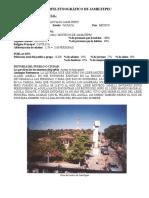 Ejemplo de Perfil Etnográfico - Jamiltepec