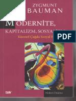 Zygmunt Bauman - Modernite,Kapitalizm,Sosyalizm.pdf