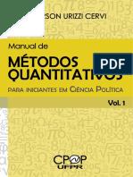 Manual de Métodos Quantitativos Para Iniciantes