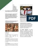 Características de La Etnia Maya
