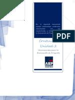 Contenidos Unidad 2 Herramientas Para La Evaluacion de Proyectos