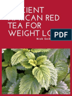 Ancient African Red Tea Weight Loss Cleanse