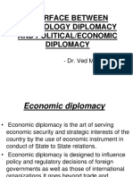 Interface Between Technology and Economic Diplomacy
