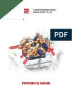 V Guard Annual Report 2014 2015