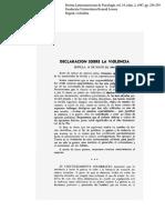 SEM 2 - Declaración de Sevilla