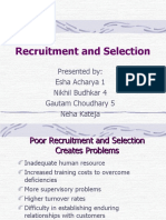 Recruit and Select Ppt