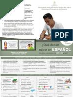 ES08 Información Para La Familia Hondureña Sobre Estándares Educativos