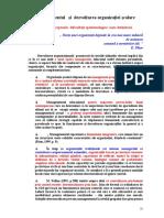 Managementul dezvoltarii organizatiei scolare