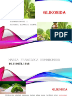 Maria F Rumahombar GLIKOSIDA Ppt