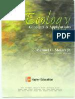 Ecology Conceptos y Aplicaciones