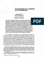 (1992). ORGANIZATIONAL SOCIALIZATION AS A LEARNING PROCESS - THE ROLE OF INFORMATION ACQUISITION.pdf