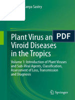 K. Subramanya Sastry (Auth.)-Plant Virus and Viroid Diseases in the Tropics_ Volume 1_ Introduction of Plant Viruses and Sub-Viral Agents, Classific