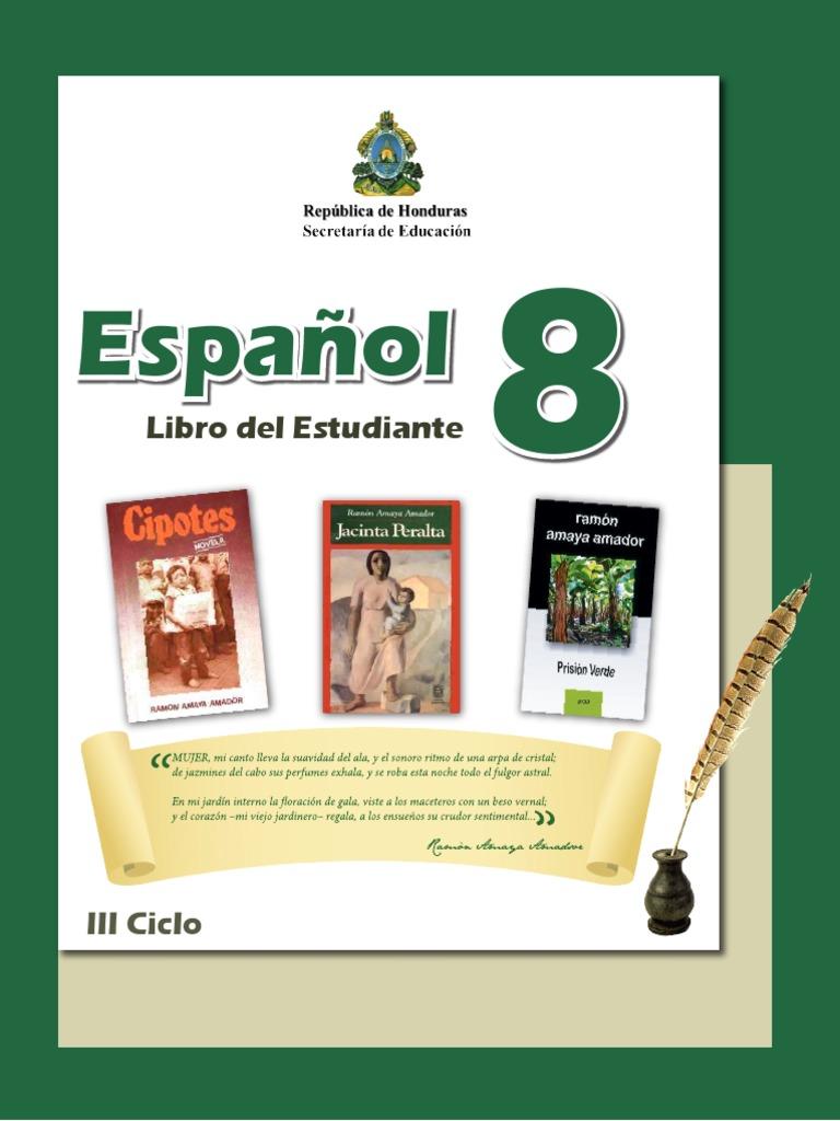 Español Octavo Grado Libro Del Estudiante