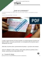Cheque Prescrito Pode Ser Protestado_ _ Artigos Jusbrasil