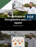Tecnología Solar Fotoquímica Para Las Aguas