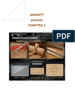Pianoteq English Manual