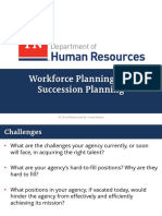 Workforce Planning and Succession Planning