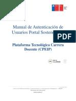 Manual de Autenticación de Usuarios Portal Sostenedores