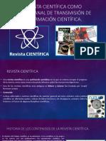 Conocimiento cientifico revistas cientificas