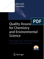 3Quality Assurance in Analytical Chemistry