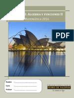 Libro VIII_Algebra y Funciones II