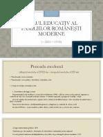 Rolul Educativ Al Familiilor Romanesti Moderne