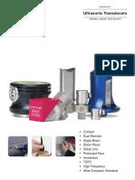 Panametrics Ultrasonic Transducers