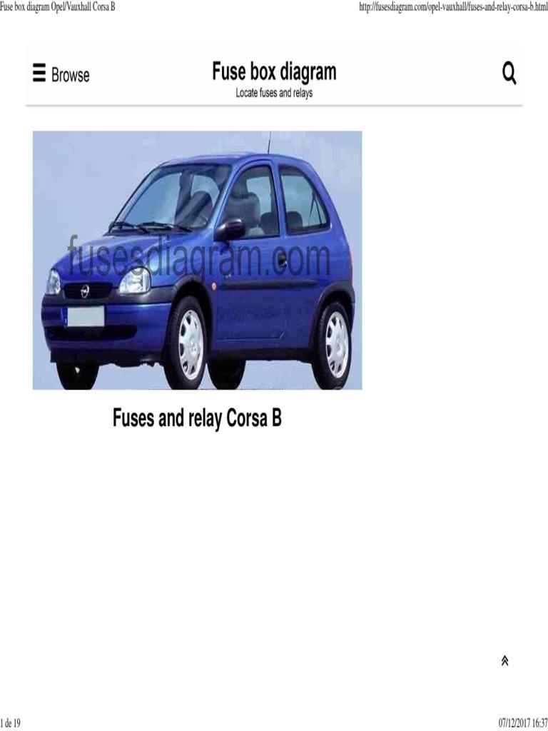 Fuse box diagram Opel_Vauxhall Corsa B.pdf.