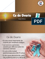 Ppt CA de Ovarioo