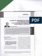 La falta de legitimidad del contrato en el derecho europeo y en el derecho iberoamericano- Inoponibilidad o ratificacion-ROMULO MORALES HERVIAS.pdf