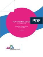 Oferta Platforma Shop Online