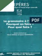 Repères Nº 14 - 1996
